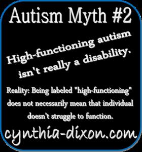 autism myth #2