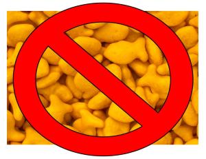 no goldfish